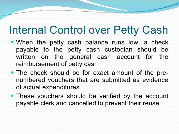petty cash policy template - audit of imprest petty cash