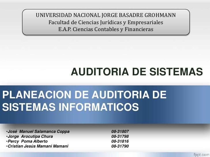UNIVERSIDAD NACIONAL JORGE BASADRE GROHMANN                 Facultad de Ciencias Jurídicas y Empresariales                ...
