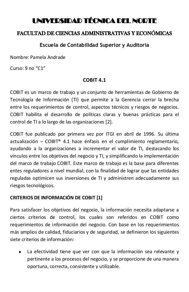 UNIVERSIDAD TÉCNICA DEL NORTE   FACULTAD DE CIENCIAS ADMINISTRATIVAS Y ECONÓMICAS              Escuela de Contabilidad Sup...