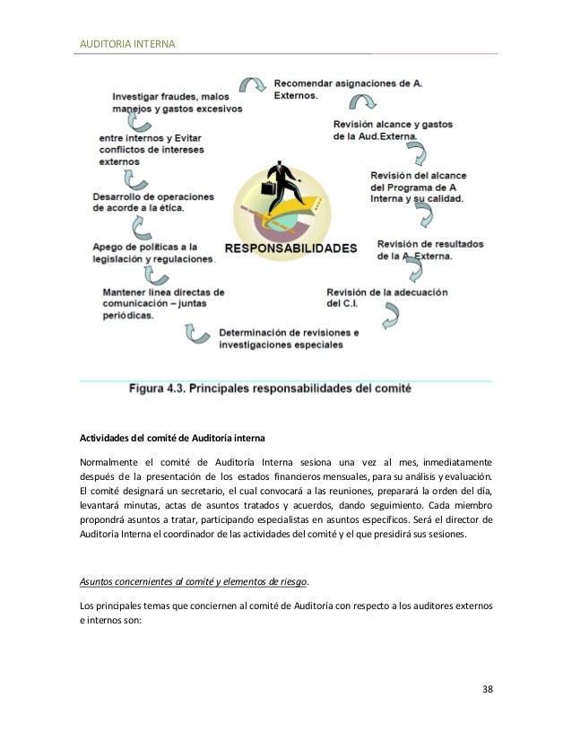 Auditoria Interna Auditoria Interna 38
