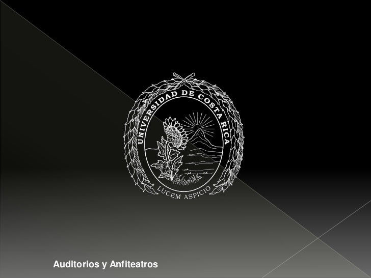 Auditorios y Anfiteatros<br />