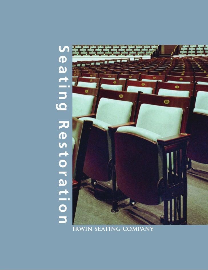 Auditorium Seating Restoration (Wood)