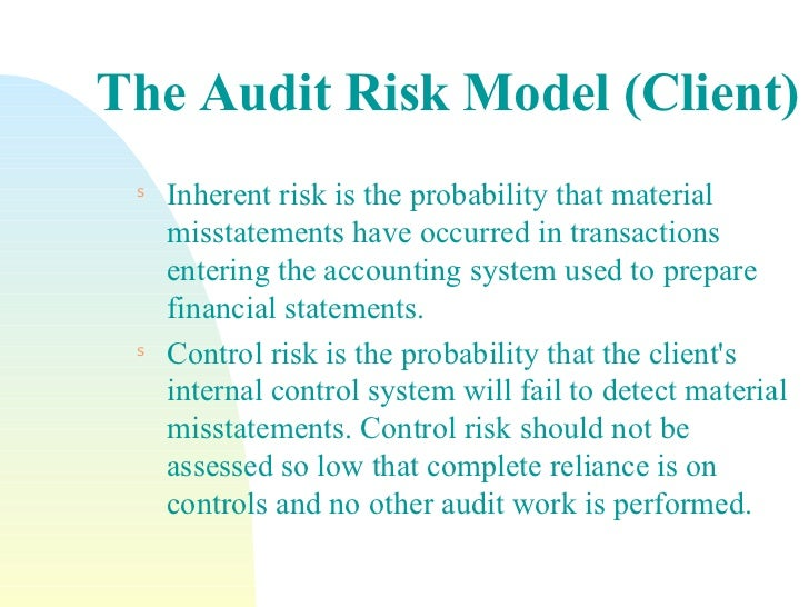 client business risk audit planning