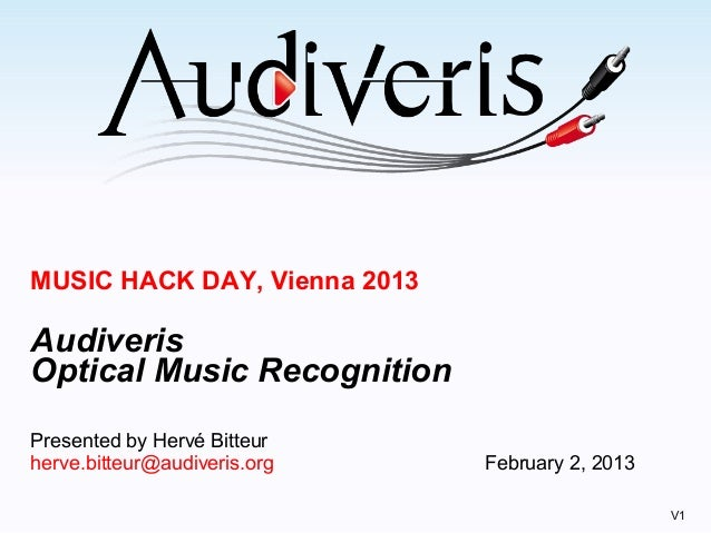 Audiveris musichackdayvienna2013.v1