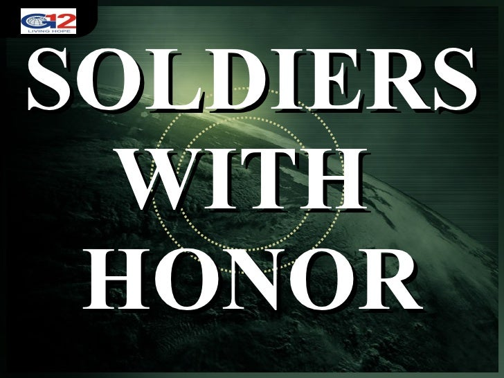 Aug. 9, 2009 Soldiers With Honor