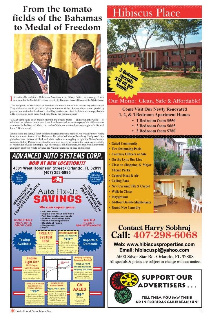Florida's Caribbean Sun Newspaper September 2009- Part 2