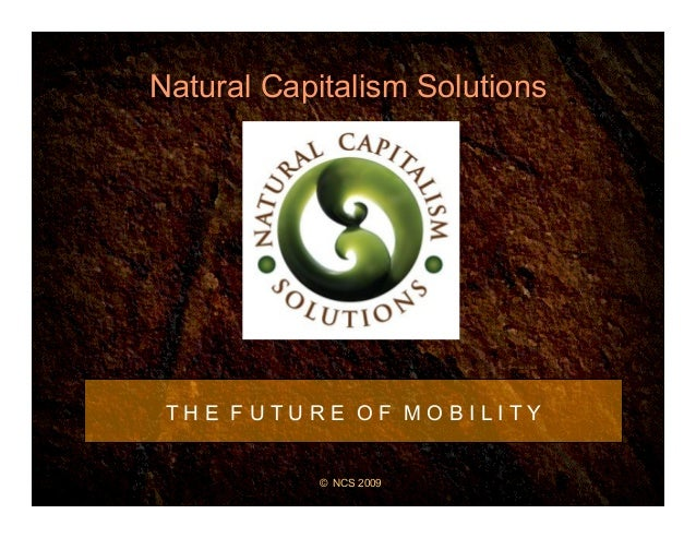 The Future of Mobility by Hunter Lovins