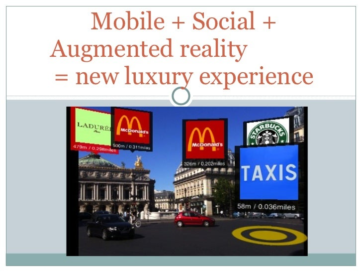 Augmented reality think tank
