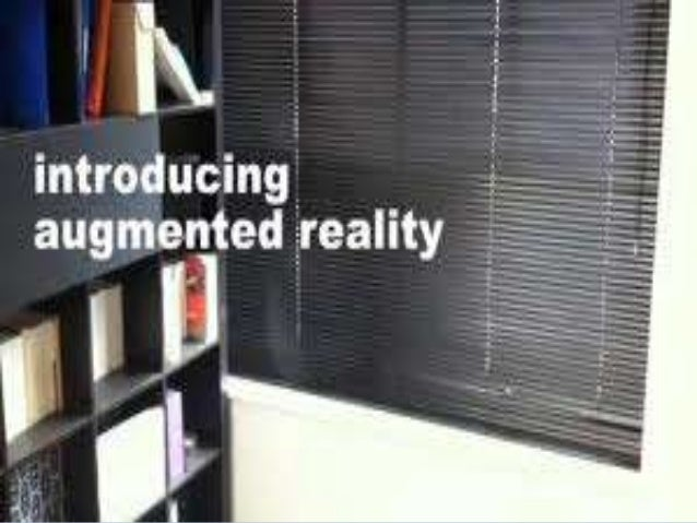 WE ARE TALKING ABOUT  DEFINITION  DIFFRENCE BETWEENVIRTUAL AND AUGMENTED REALITY  USE OF AUGMENTED REALITY  WIKITUDE ...
