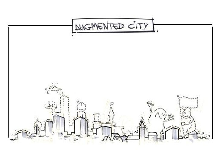Augmented City Lab Visuals  by Jam