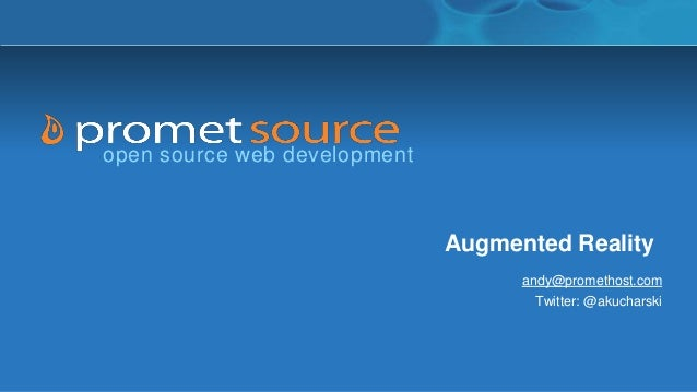 Augmented Reality March Webinar