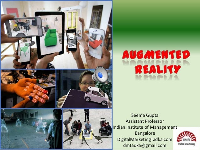 Seema Gupta Assistant Professor Indian Institute of Management Bangalore DigitalMarketingTadka.com dmtadka@gmail.com
