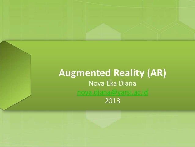 Augmented reality (ar) introduction