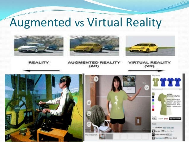 virtuality vs reality Vr, literally virtual reality or false reality, simulates an environment through a  computer or a special camera to immerse the user in an experience of which he  is.