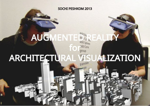 Augmented reality for architectural visualisation