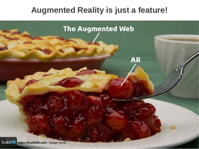 https://buildAR.com - image creditAugmented Reality is just a feature!