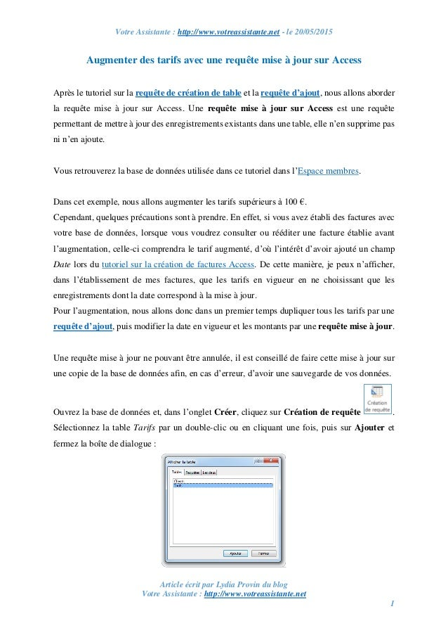 Votre Assistante : http://www.votreassistante.net - le 20/05/2015 Article écrit par Lydia Provin du blog Votre Assistante ...