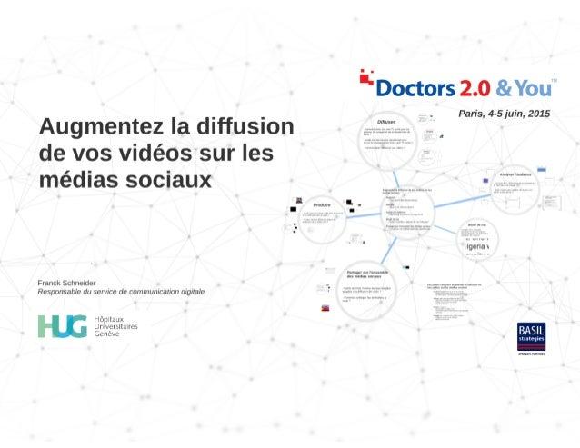 """e D c 2'51: """"s 2 C Paris,  4-5 juin,  2015  Augmentez la diffusion  de vos vicïéos sur les  médias sociaux  i  !  Pmdmle V..."""