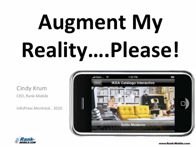 Augment my reality info press-montreal2010