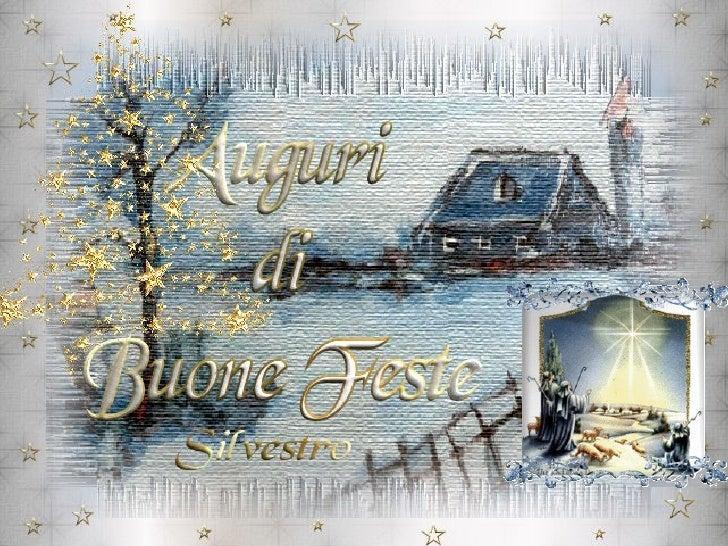 Auguri Di Buone Feste (Silvestro)