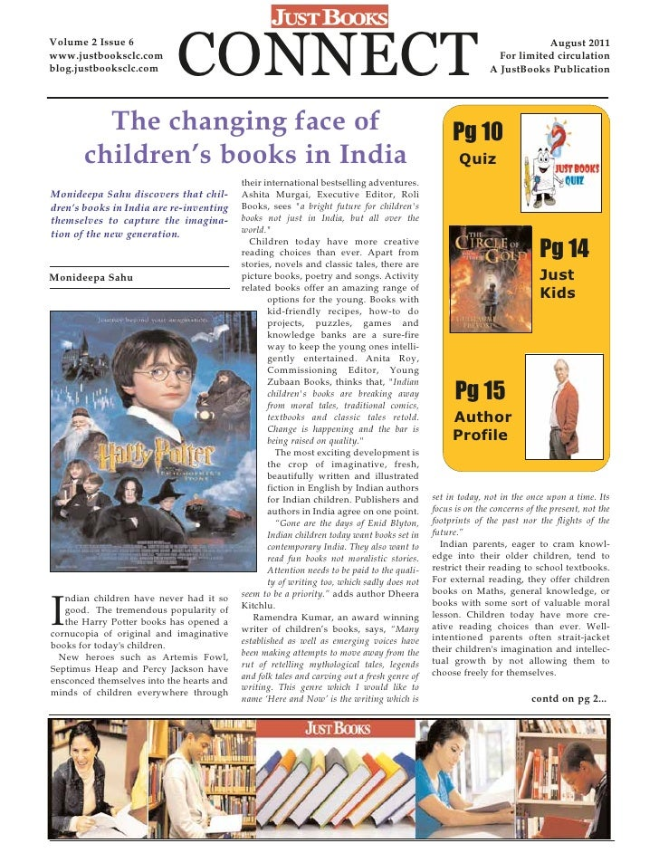 Volume 2 Issue 6www.justbooksclc.comblog.justbooksclc.com       CONNECT                                                   ...