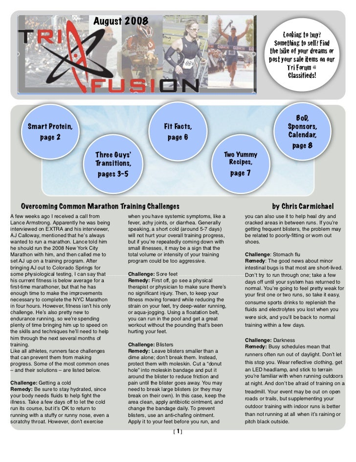 TriFusion Newsletter - Aug.'08