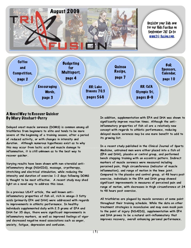 TriFusion Newsletter - Feb.'09