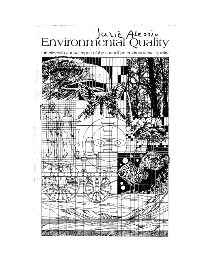 August 1980 The Eleventh Annual Report Of The Council On Env