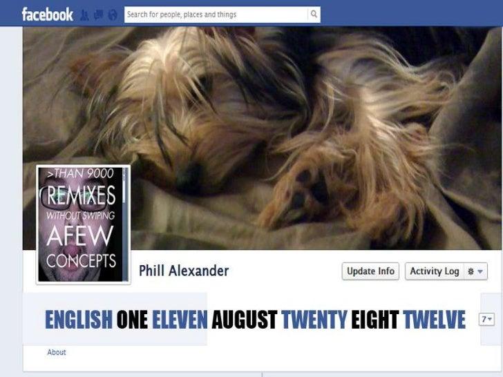English 111, August 28, 2012