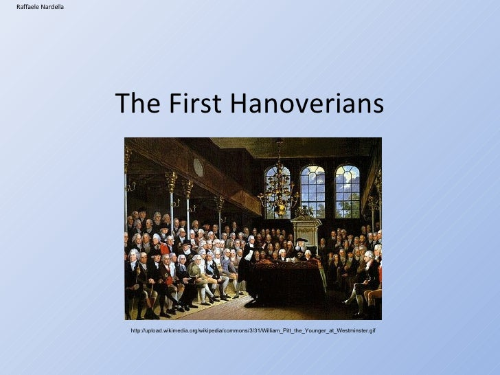 Augustan Age The First Hanoverians