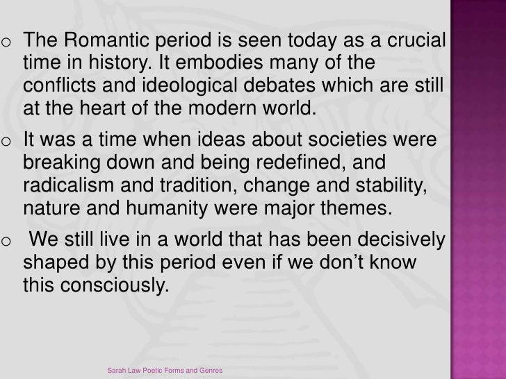romantic period poets essay