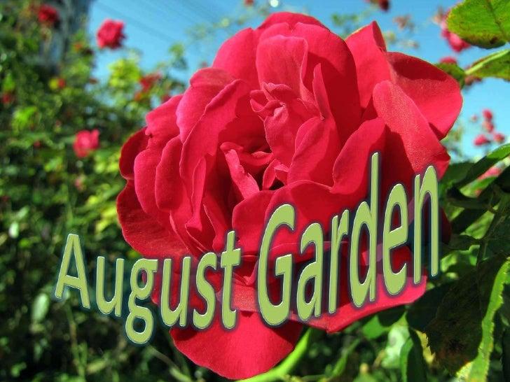 August Garden<br />