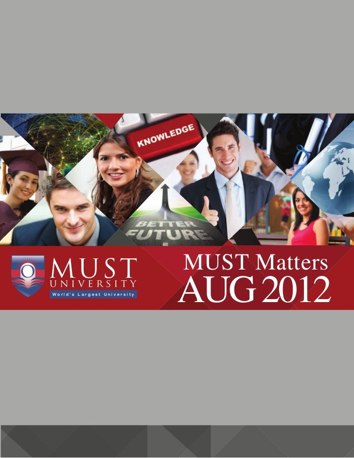 MUST University - Your Window to All Information!