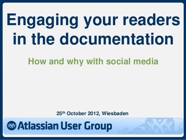 Atlassian User Group, AUG Wiesbaden, 25 October 2012