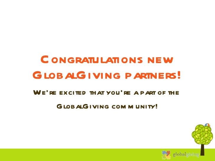 Aug winners welcome