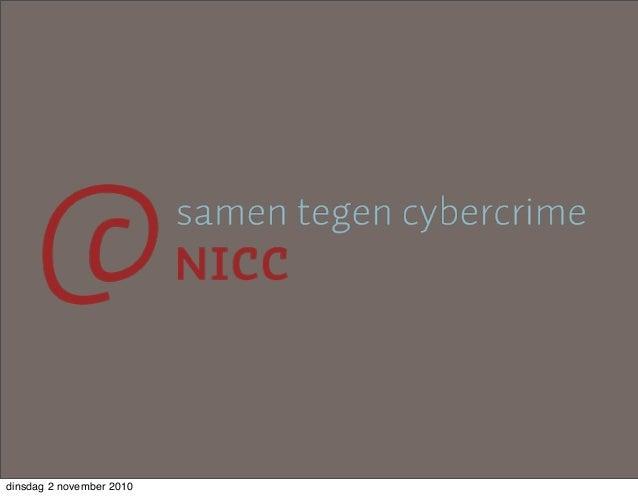 Auke Huistra, Infosecurity.nl, 3 november, Jaarbeurs Utrecht