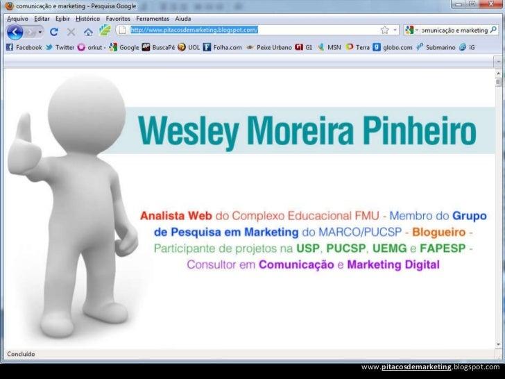 Marketing e Comunicação na Web