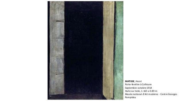 Aula matisse for Matisse fenetre