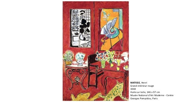 Aula matisse for Interieur rouge matisse