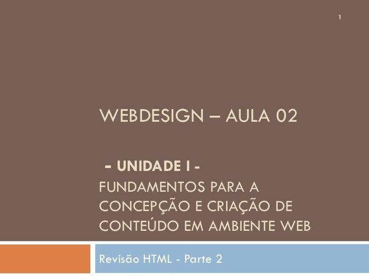 Aula02 webdesign