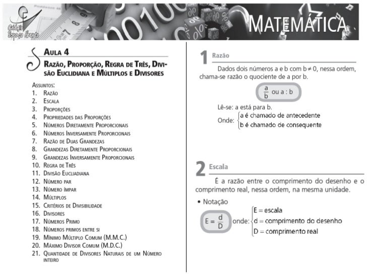 Aula 04  de Matemática