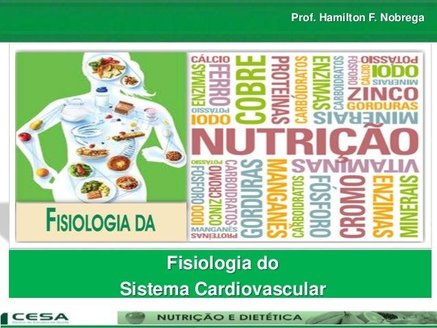 Prof. Hamilton F. Nobrega Fisiologia do Sistema Cardiovascular
