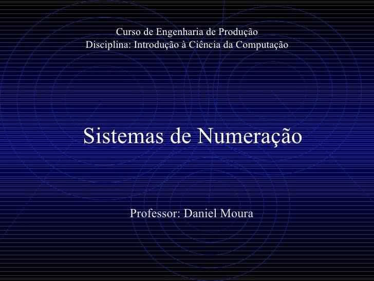 Aula 05   sistemas de numeração