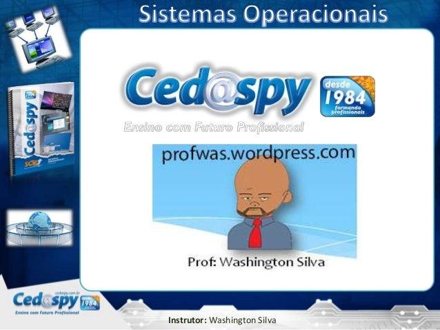 05                    5/4/2013Instrutor: Washington Silva