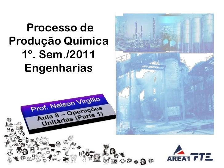 Aula 08   tecnologia da engenharia química - operações unitárias i - 25.03.11