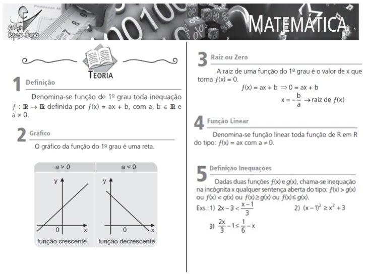 Aulas 09 e 10 - Matemática