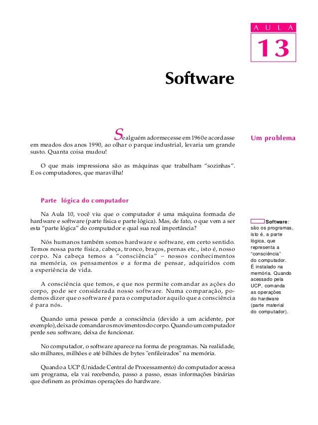 Aula 13   software