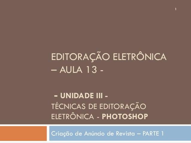 Aula13 editoracao eletronica