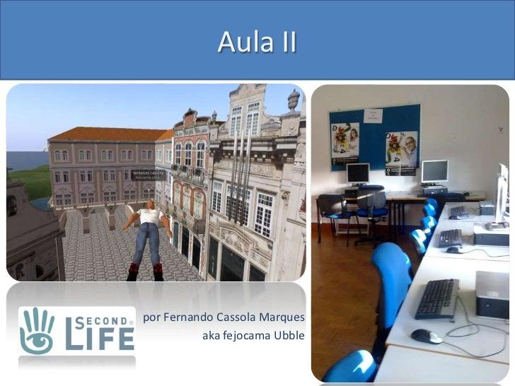 Orientação, navegação e costumização do Avatar no Second Life