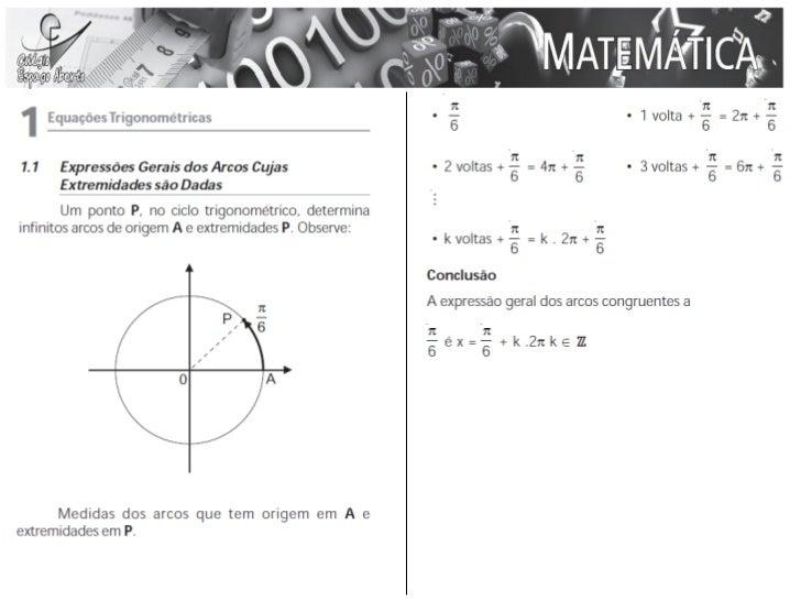 • (UFC) Encontra as soluções das raízes da  equação 9 − 2 cos2 x = 15.senx , no intervalo [0, π].